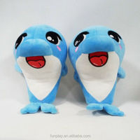 HI CE/ASTM safety wholesale jumping dolphin animal plush toy manufacturer in GZ