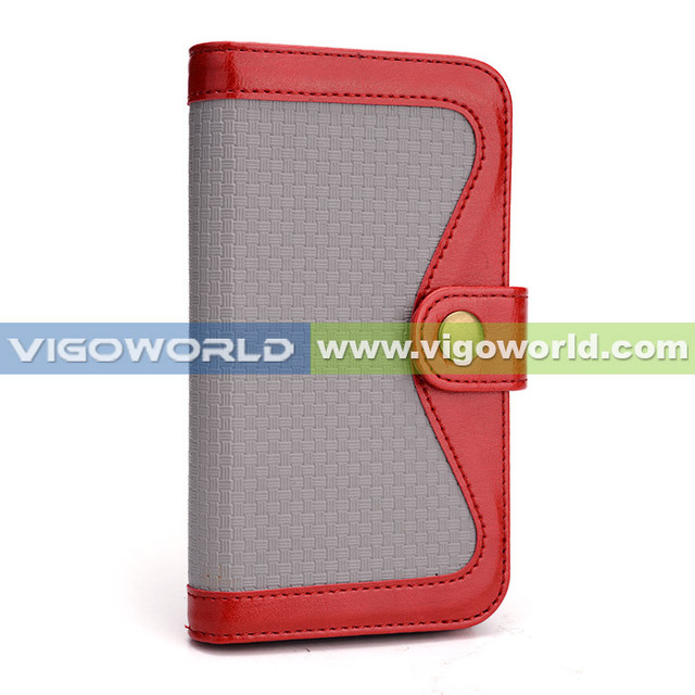 Case for Samsung Galaxy S4 i9500 women wallet mobile phone case for samsung S4 with mirror wallet detachable