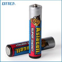 PVC and Foil lable of 1.5v um-4 aaa r03 carbon dry battery