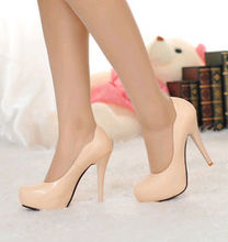 2014 new Fashion small round toe thin heeled women's shoes