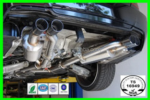 Stainless Steel Car Exhaust Flexible Pipes With Extension Tube