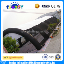 Factory price inflatable tennis tent court