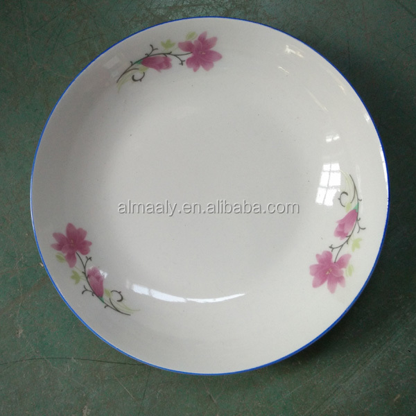 low price homeware ceramic fruit plate