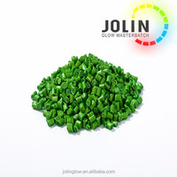 abs pellets, abs granules, Green Masterbatch For Plastic Bags