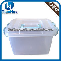 6L new whitefurze walmart plastic medium storage container with wheels and handle