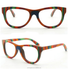 Hot sale China candy wood sunglasses colorful full frame quick delivery unique handcrafted eyewear