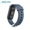 2017 APPSCOMM Smart Watch Bluetooth Smart Bracelet Heart Rate Monitor Touch Screen for iPhone or Android System