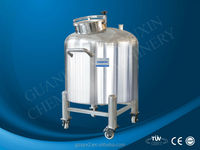 SPX food-grade sealed stainless steel storage tank for mayonnaise edible oil refining