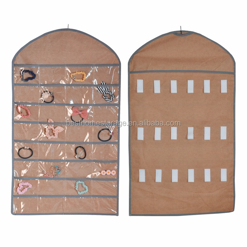 Jewellery Hanging Organizer/Wardrobe Jewelry Storage Hanger