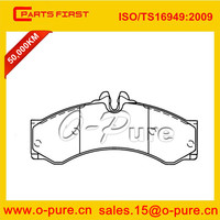 car part brake pad for Mercedes SPRINTER 906