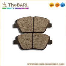 Semi-metal brake pad D1444-8595 for car parts
