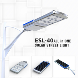 Easy Install High Power 40W Solar Led Street Light All In One