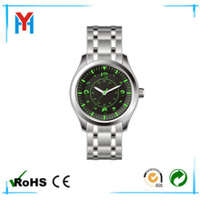 stainless steel watches for men promotional 2014 stainless steel caseback japan movement