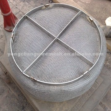 stainless steel round demister filter