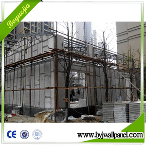 High Standard Lightweight Steel Frame EPS Concrete Prefab House
