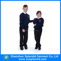 Custom designs new patterns primary school-uniform sample