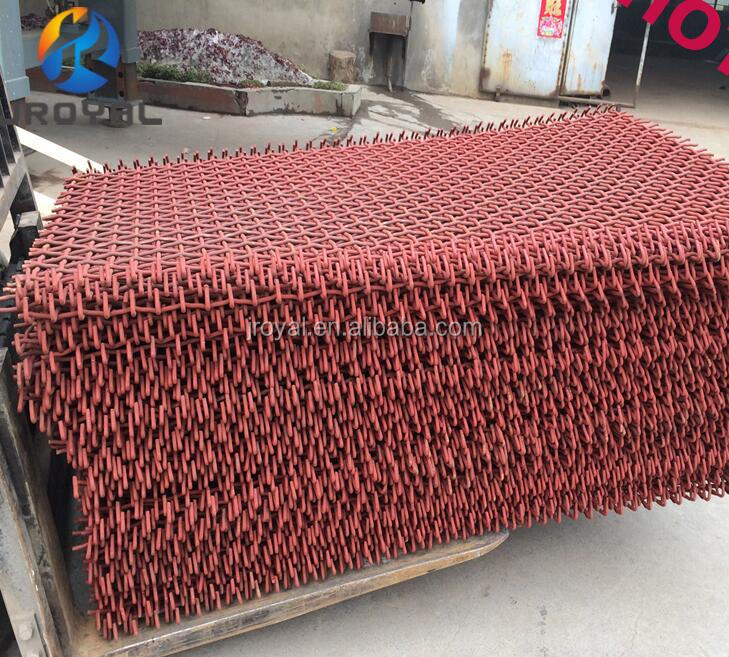 Rock Crusher Sieving Mesh Vibrating Screen Mesh with Best Price