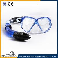 Wholesale full face mask scuba diving snorkel set