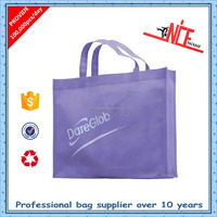 Brown paper tote plastic bag with handle eco friendly shopping bag