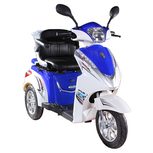 Customized cheap luxury scooter 3 wheel bicycle Electric For Passenger/tricycle/adult Tricycle