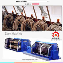 asbestos flax hemp coir jute HDPE PP ropes twines machine complete production line