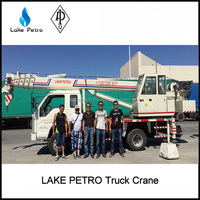 Lake 8 ton truck mounted crane / Hydraulic Crane for Truck
