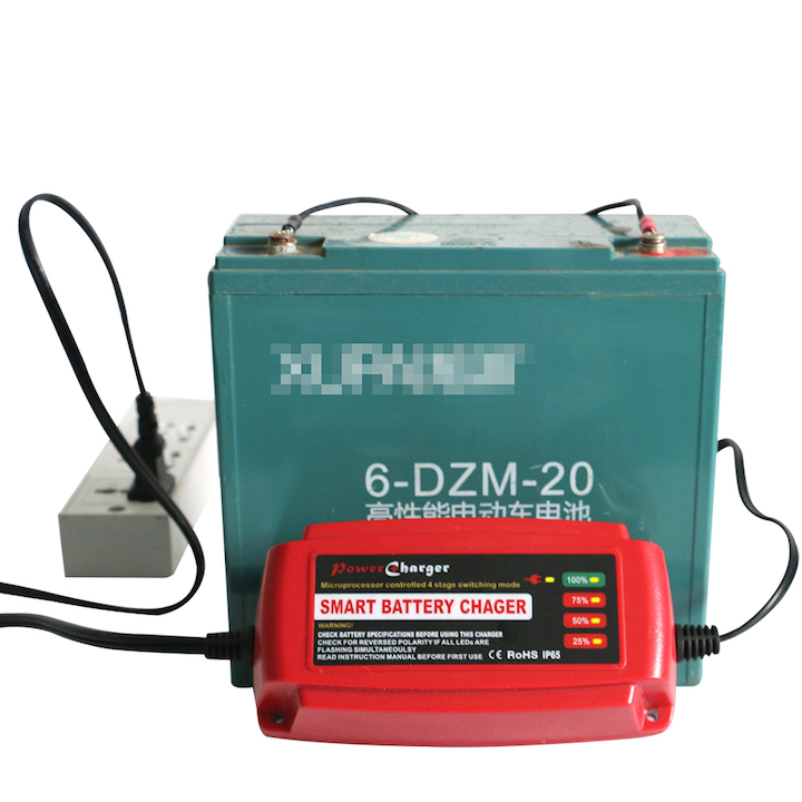 12V 5A pulse charger, Desulfator,100-240V input,waterproof Car battery charger 12V