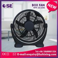home appliance box fan with handle