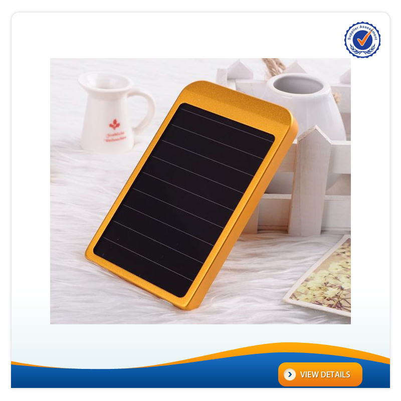 AWC611 2600mAh Solar Battery Charger For Mobile Phone For Samusng For Iphone