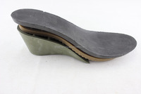 soles shoe soft TPR PVC EVA repair 3 part high heel fashion popular shoe material