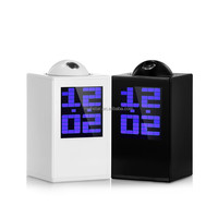 Square PROJECTION DIGITAL LED ALARM CLOCK