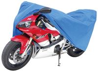 waterproof and prcatical 80G blue non woven fabric 14102L motorcycle cover