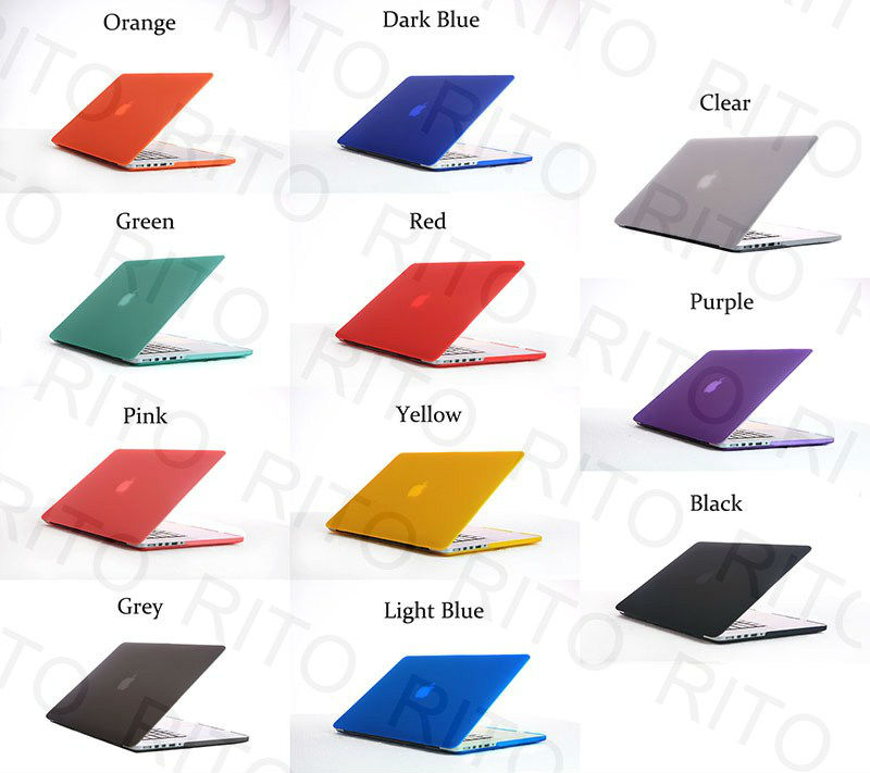 "Crystal laptop Case For New Macbook Pro 13"" Retina Screen,11 Colors,OEM Welcome"