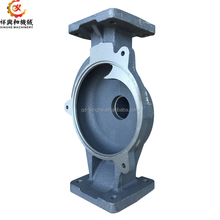 OEM pump cover fcd 400 ductile iron casting parts with sand casting