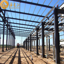 ISO New Design Ready Made Light Steel Structure Warehouse