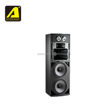 MD46 high power loudspeaker 4 way active speaker professional dual 15 inch neodymium driver stage full range audio DJ system