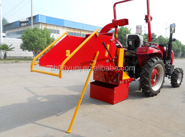 small tractor wood chipper made in china