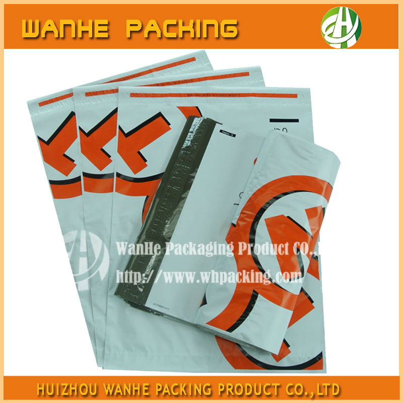 Self adhesive plastic package