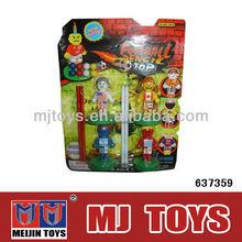promotional mini plastic soccer balls mini football player
