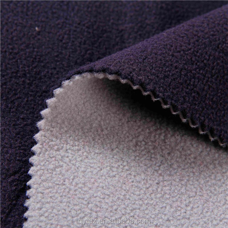 Breathable 100%Polyester Bonded Polar Fleece Softshell Fabric for Jacket,Sportswear,Garment