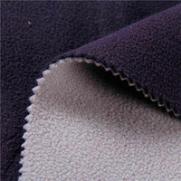 Breathable 100 Polyester Bonded Polar Fleece