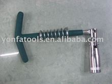 T handle spark plug wrench