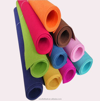 1mm 2mm 3mm 4mm 5mm wholesale china wool felt fabric rolls