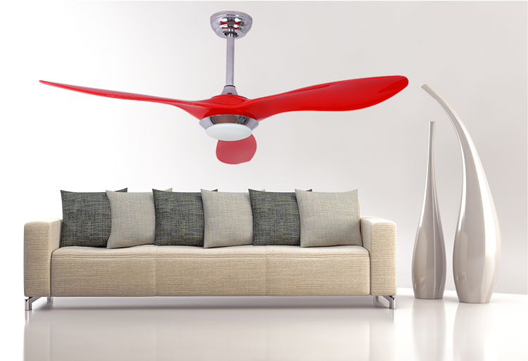 Zhongshan manufacturers original design energy saving ceiling fan with 12w led light