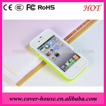Hot selling TPU PC frame case for Apple iPhone 5C