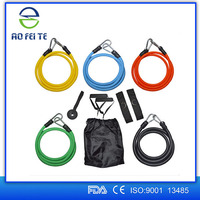 Express Alibaba Body Building Equipment Resistance Bands 11 Fitness Resistance Loop Bands Rubber Resistance Band Set