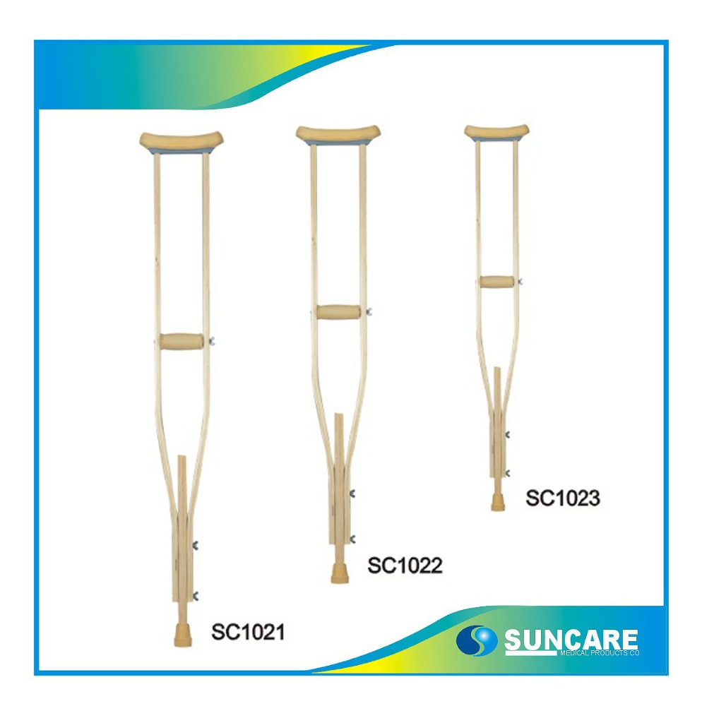 Wood Crutch walking aids SC1022