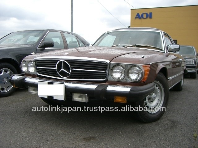 1977 MERCEDES BENZ 450SLC LEFT HAND DRIVE