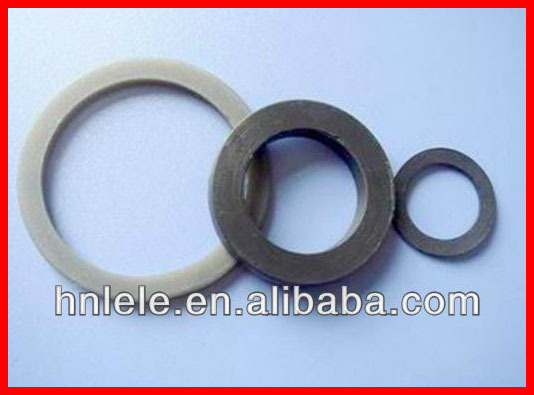 Custom round heat resistant rubber washer