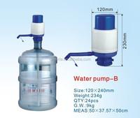 water dispenser hand manual air pump for 5 gallon water barrel
